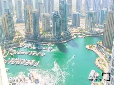 1 Bedroom Flat for Rent in Dubai Marina, Dubai - Marina View   Fully Furnished   Luxury apartment