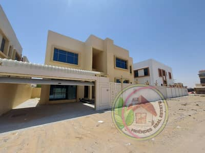 5 Bedroom Villa for Sale in Al Helio, Ajman - Villa for sale in Ajman, Al Rawda, the most famous villas, the highest value, the latest design and the best quality with the possibility of easy bank
