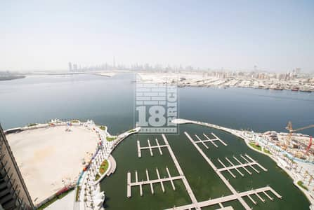 3 Bedroom Flat for Sale in The Lagoons, Dubai - High Floor |  Above 30th Floor Full Creek View