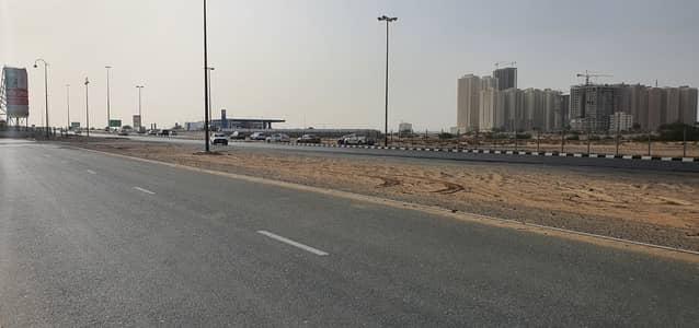 Plot for Sale in Al Ameera Village, Ajman - G+10 Commercial Plot on Main Road, Ameera Village, Ajman