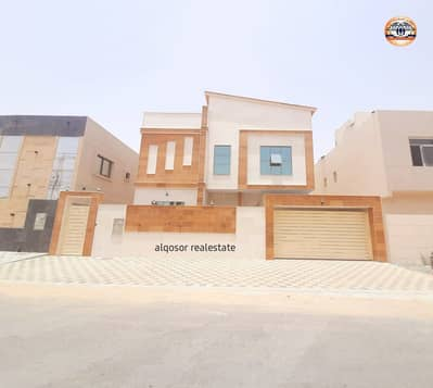 5 Bedroom Villa for Sale in Al Yasmeen, Ajman - European villa for sale at an attractive price in Jasmine without down payment and bank financing The best real estate agents own a lifetime villa at