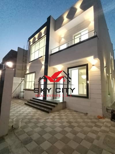 5 Bedroom Villa for Sale in Al Yasmeen, Ajman - European villa for sale at an attractive price In Jasmine, without down payment and bank financing The best real estate agents Own the villa of a life