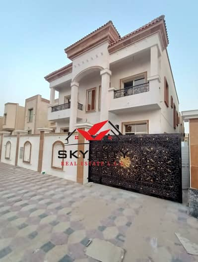 5 Bedroom Villa for Sale in Al Mowaihat, Ajman - European villa for sale at an attractive price In Jasmine, without down payment and bank financing The best real estate agents Own the villa of a life