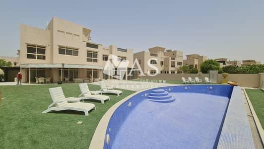 5 Bedroom Villa for Rent in Al Hamra Village, Ras Al Khaimah - Beachfront Living | Private pool & elevator