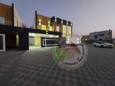 4 Bedroom Villa for Sale in Al Yasmeen, Ajman - European villa for sale at an attractive price in Jasmine without down payment and bank financing The best real estate agents own a lifetime villa at