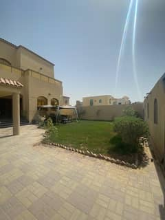 Villa ready to live in excellent location , design , finishing and condition , available elec. , water and A/C. with Furniture