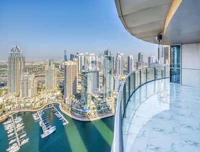 شقة 2 غرفة نوم للايجار في دبي مارينا، دبي - Upgraded top of the line two bedroom apt