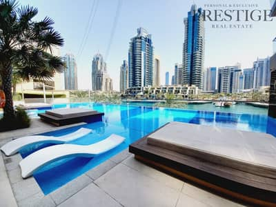 فلیٹ 2 غرفة نوم للايجار في دبي مارينا، دبي - Luxury living | 2 bed| Marina View
