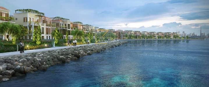 تاون هاوس 4 غرف نوم للبيع في جميرا، دبي - Stunning Sea View 4 Bedroom Luxury Townhouse | Handover JULY 2021 | Brand New | Sur La Mer