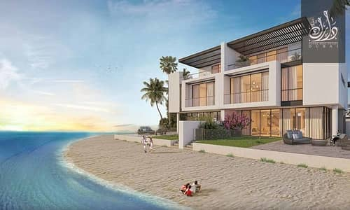 5 Bedroom Villa for Sale in Sharjah Waterfront City, Sharjah - Villa for sale on an island with sea views, in installments for 4 years after handover