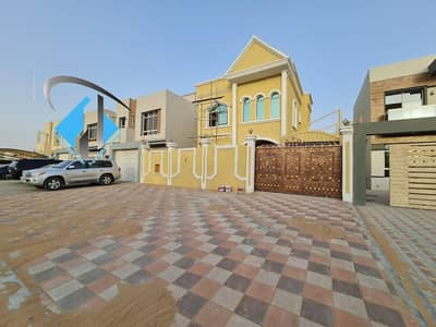 5 Bedroom Villa for Sale in Al Yasmeen, Ajman - For lovers of beauty, a villa with an elegant Arabic design for sale at an attractive price in Jasmine without down payment and bank financing
