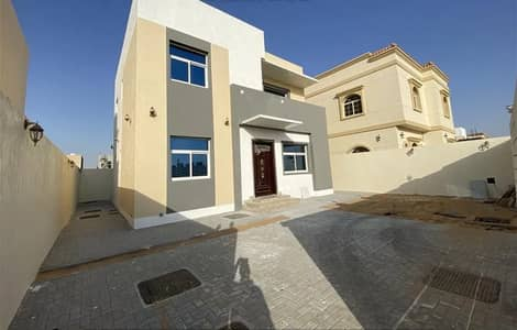 4 Bedroom Villa for Sale in Al Zahia, Ajman - At the price of a piece without down payment for sale, a personal building villa with the best finishes in the Emirate of Ajman, near the mosque and c