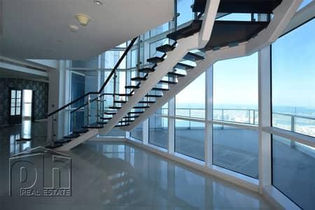 بنتهاوس 4 غرف نوم للايجار في دبي مارينا، دبي - Luxury Penthouse   Duplex   Available September