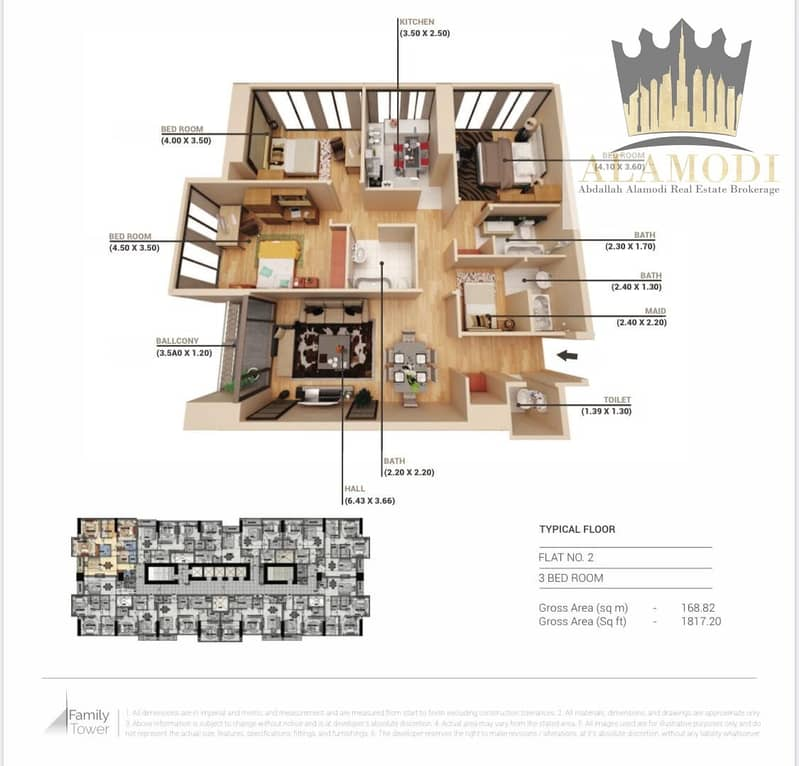 10 Big deal for 3 BHK apartment in Sharjah,half of the price!