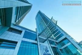 شقة في جلفار تاورز دفن النخیل 2 غرف 850000 درهم - 5218540