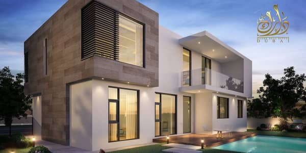 5 Bedroom Villa for Sale in Al Tai, Sharjah - Own a luxury Villa in Sharjah Zero Service charge | Easy Payment Plan
