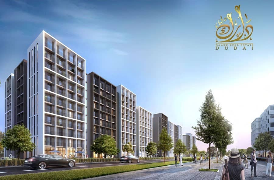 2 Own 2 BHK apartment with 6750 AED Monthly Installment