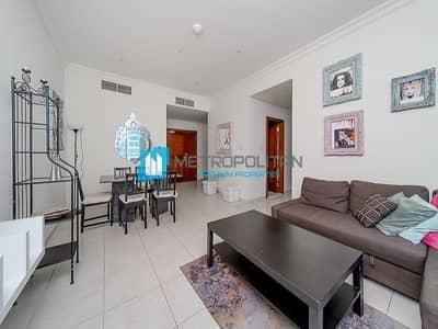فلیٹ 2 غرفة نوم للبيع في دبي مارينا، دبي - High Floor | Partial Marina View | Unfurnished