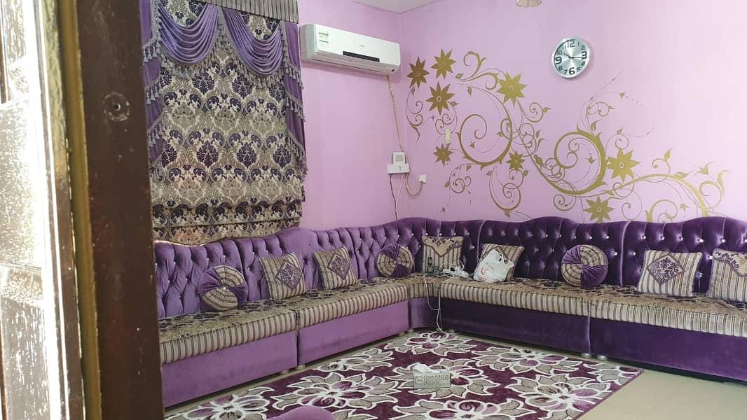 a villa with a wonderful view For sale in Al Rawda