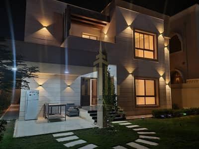 BEAUTIFUL MODERN STYLE VILLA FOR RENT 5 MASTER BADROOM MAJLIS (HALL) IN AL RAWDA 1 AJMAN RENT 110,000/- AED YEARLY