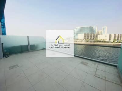 2 Bedroom Flat for Rent in Al Raha Beach, Abu Dhabi - Panoramic Sea View| Spacious Terrace| Duplex