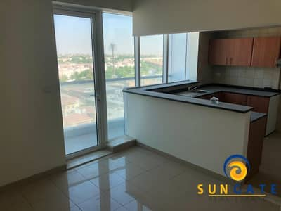 1 Bedroom Flat for Rent in Dubai Sports City, Dubai - golf course views with balcony and parking
