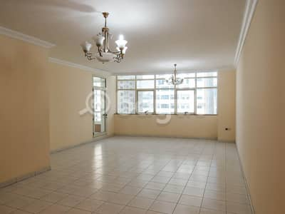 3 Bedroom Apartment for Rent in Al Rumaila, Ajman - Amazing City-View !! 3 Bedroom Apartment With Maid Room   CHILLER (A/C)  FREE    COOKING GAS  FREE    In Al Shorafa Tower 1 AL Rumaila 3, Ajman.