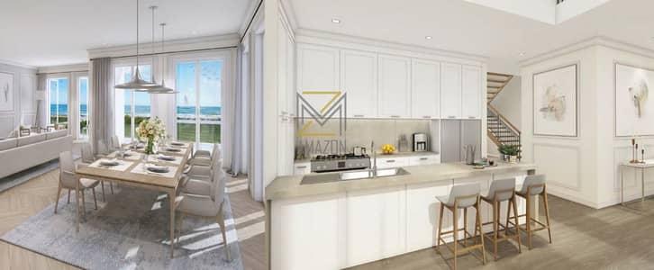 تاون هاوس 4 غرف نوم للبيع في جميرا، دبي - SEAVIEW - BEACHFRONT | Huge and Luxurious 4 Bedroom | Handover JULY  2021 | Sur La Mer