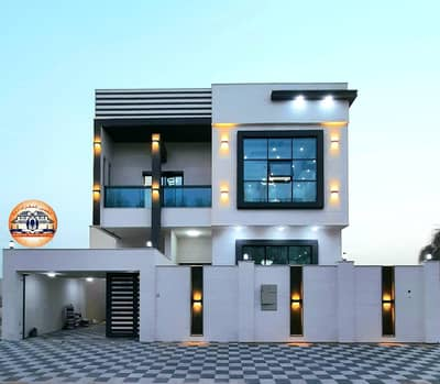 5 Bedroom Villa for Sale in Al Yasmeen, Ajman - For sale, one of the finest villas in Ajman, with a luxurious hotel design, in a privileged location in the Al-Yasmeen area, with the possibility of b