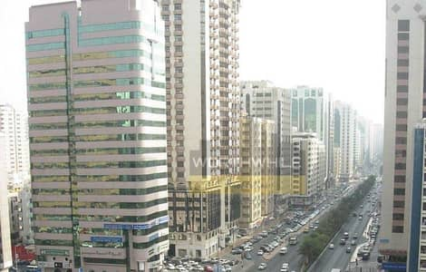 2 bedroom apartment with window AC is available for rent only at AED 50K on Hamdan Street