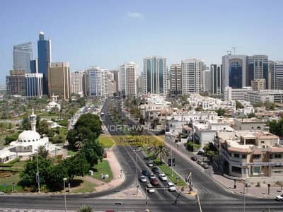 Pay only AED 60K yearly and stay in a 2 BR apartment with 2 bath and C.AC Located on Hamdan St