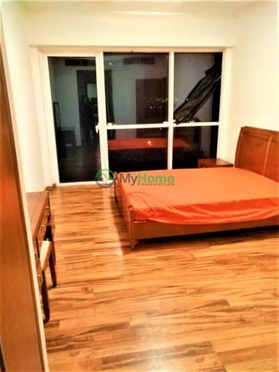 Largest 1 BR| furnished| saba tower| rent 80k