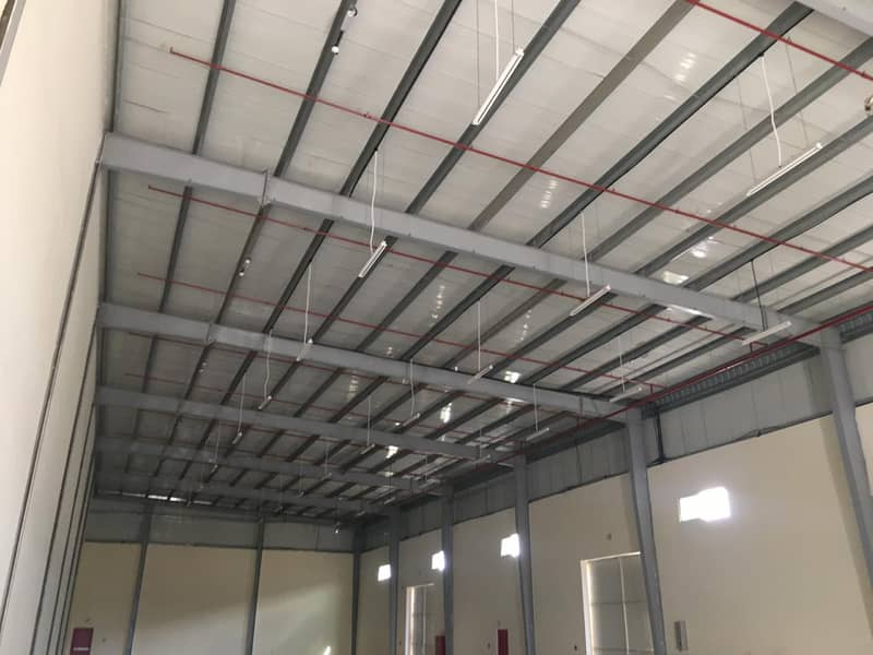 Brand new shed 6500 sq,ft @AED 85,000 35 KW Power  in UAQ