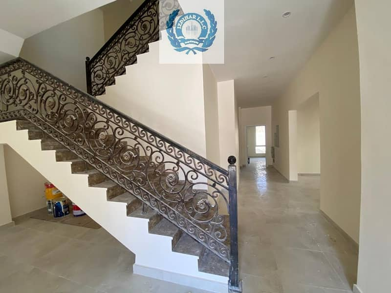 24 Brand New | Luxurious 5BHK Villa + Maids Room  All Master Bedrooms In Just 130k Al Jazzat