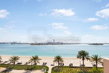 3 Bedroom Flat for Rent in Palm Jumeirah, Dubai - 3B+M | Inner Palm Jumeirah Beach View | Vast Living Space