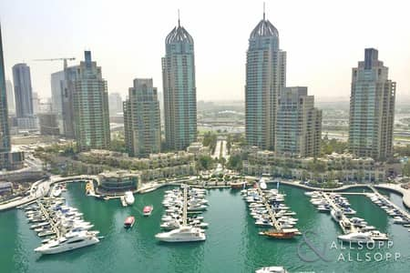 1 Bedroom Apartment for Rent in Dubai Marina, Dubai - 1 Bed   Furnished   Marina View   Balcony