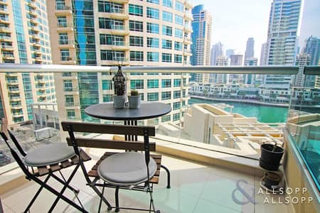شقة 2 غرفة نوم للايجار في دبي مارينا، دبي - Marina Views   Unfurnished   Two Bedrooms