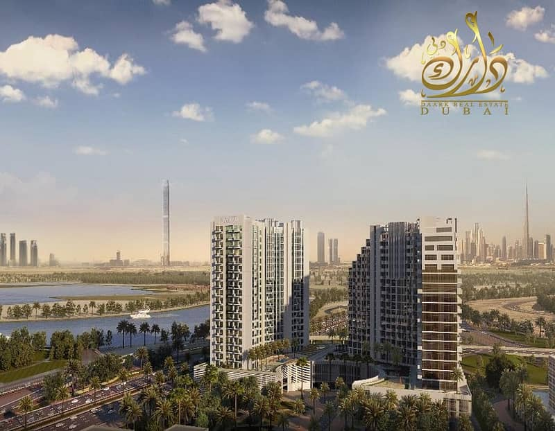 Own your apartment in Al Jaddaf  with only 50K DP!!!!