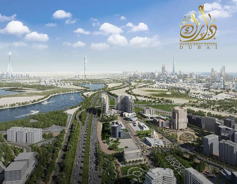 2 Own your apartment in Al Jaddaf  with only 50K DP!!!!
