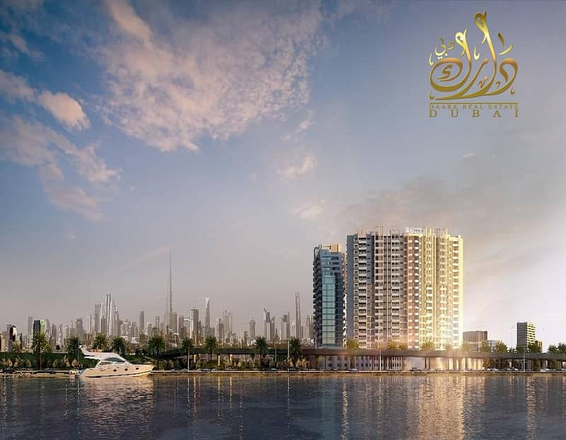 18 Own your apartment in Al Jaddaf  with only 50K DP!!!!