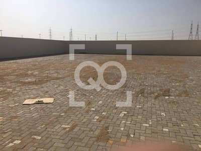 Plot for Rent in Al Saja, Sharjah - 54000 sq.ft. |  Open Yard | 2 Offices
