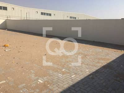 Plot for Rent in Al Saja, Sharjah - Open Yard |  Office with Boundary Wall | Sharjah