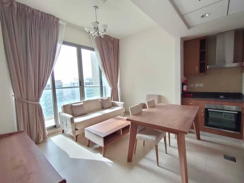 شقة في مساكن مورانو الفرجان 1 غرف 42000 درهم - 5132155