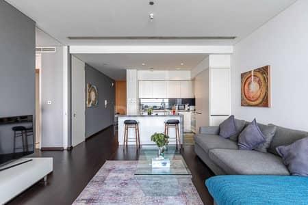 شقة 1 غرفة نوم للبيع في مركز دبي المالي العالمي، دبي - Wooden Floor | Breathtaking Khalifa View