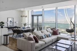 شقة في بناية الشقق 8 بلوواترز ريزيدينسز جزيرة بلوواترز 2 غرف 5500000 درهم - 4984577