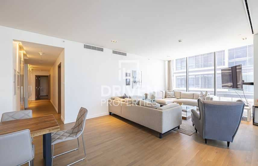 2 Fully Furnished Apt with Boulevard Views