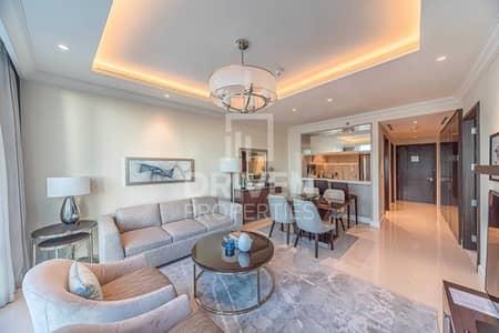شقة 1 غرفة نوم للايجار في وسط مدينة دبي، دبي - 5 Star Hotel | W/ Full Burj Khalifa View