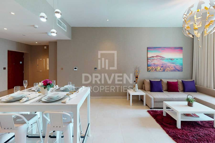 2 Brand New and Fully Furnished 1 Bedroom Apt
