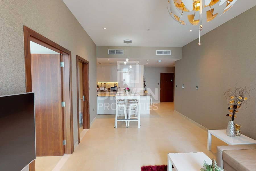13 Brand New and Fully Furnished 1 Bedroom Apt