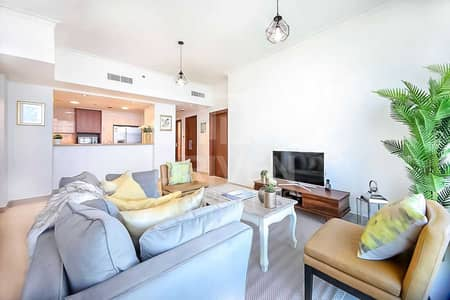 2 Bedroom Apartment for Sale in Downtown Dubai, Dubai - Fully Furnished w/ Sea View | High Floor